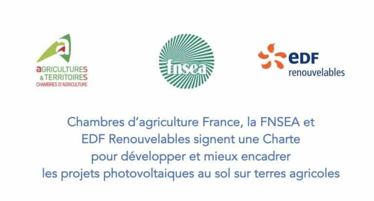 ILLUSTRATION charte pour developper projet photovoltaique